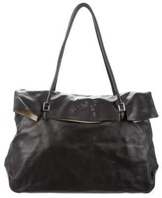 Anya Hindmarch Leather Flap Bag