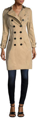 Burberry Redhill Puff Sleeve Trench Coat