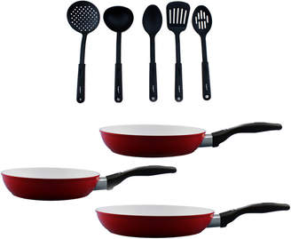 Berghoff Ceramis Non-Stick 8Pc Fry Pan Set With Tools