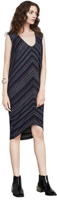 BCBGMAXAZRIA Kerstin Jacquard Tunic Dress