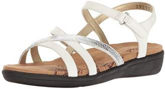 SoftStyle Soft Style by Hush Puppies Women's Paityn Flat Sandal
