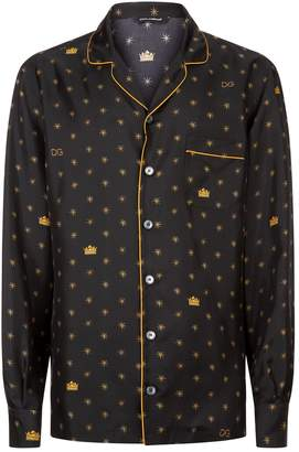 Dolce & Gabbana Star Pyjama Top