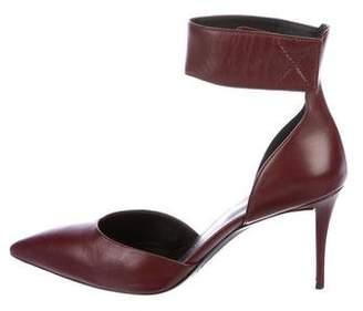 Giuseppe Zanotti Leather Ankle-Strap Pumps