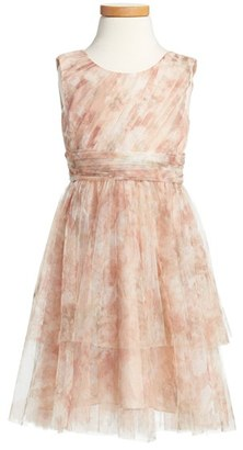 Toddler Girl's Jenny Yoo 'Etsy - Vintage Floral' Tulle Dress $198 thestylecure.com