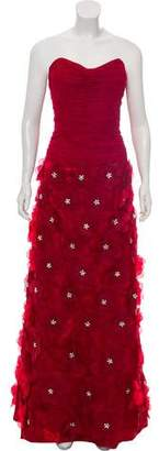 Jovani Floral Tiered Gown w/ Tags