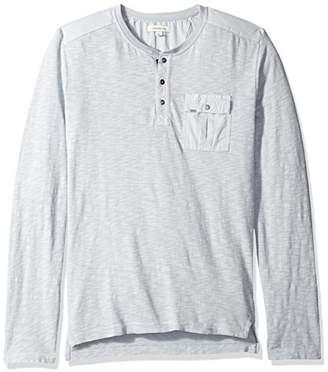 Calvin Klein Jeans Men's Long Sleeve Surplus Henley Shirt