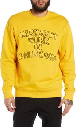 Carhartt Work In Progress WIP Division Embroidered Sweatshirt