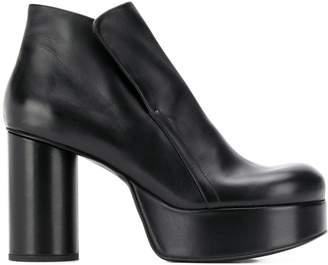 Jil Sander ankle leather boots