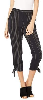 Michael Stars Beach Stripe Capri Pants