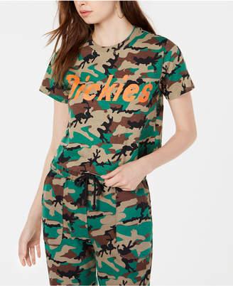 Dickies Cotton Logo Camouflage-Print T-Shirt