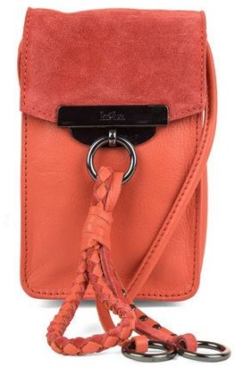 Kooba Dionne Crossbody Phone Pouch, Grapefruit $98 thestylecure.com