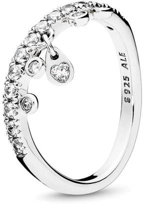 e1bc59918 Pandora Chandelier Droplets Ring