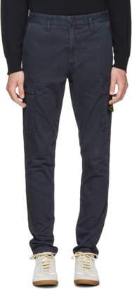 Stone Island Blue Cargo Pants