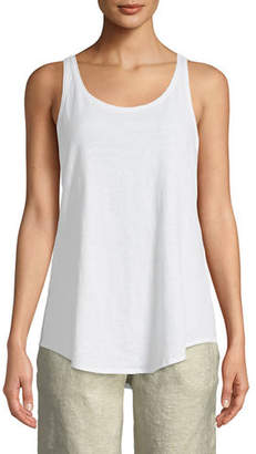 Eileen Fisher Slub Organic Cotton Tank, Plus Size