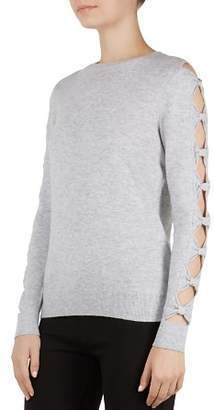 Ted Baker Danikaa Cutout Bow Sleeve Sweater