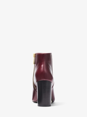 MICHAEL Michael Kors Elaine Leather Bootie