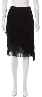 Walter Baker Flame Midi Skirt