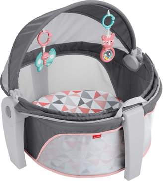 Fisher-Price On-the-Go Baby Dome, Rosy Windmill