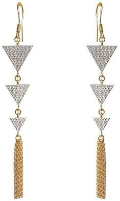 Farah Wild Hearts Earrings Gold