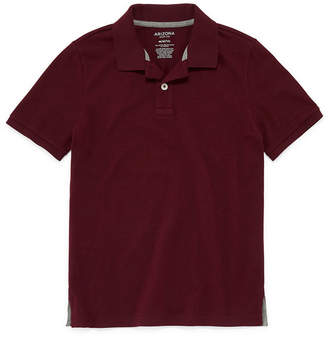 Arizona Short Sleeve Flex Polo Shirt Boys 4-20
