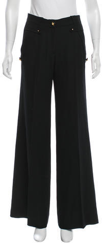 Givenchy Givenchy Wide-Leg Wool Pants