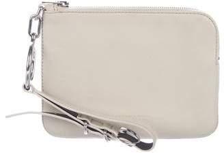 Alexander Wang Leather Zip Wristlet