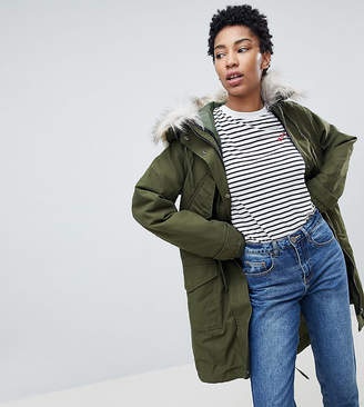 Asos Tall TALL Oversized Parka with Padded Liner