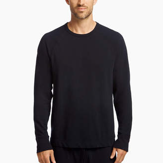 James Perse DRY TOUCH JERSEY SWEATSHIRT