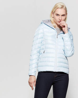French Connection Womens 3//4 Asymmetrical Oversized Puffer Coat