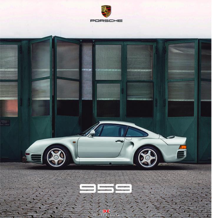 Porsche 959 Book