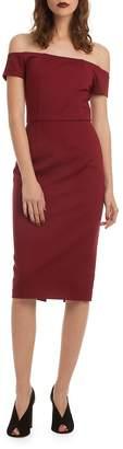 Trina Turk Women's Back Slit Dress