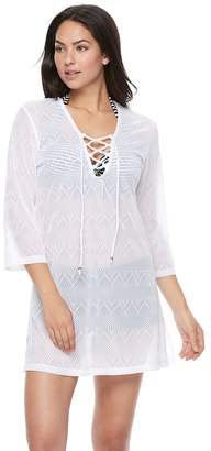 Apt. 9 Women's Jacquard Tunic Cover-Up