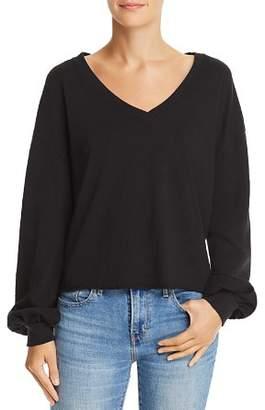 Nation Ltd. Willa Balloon-Sleeve Sweater