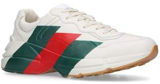 Gucci Ryton Web Stripe Sneakers