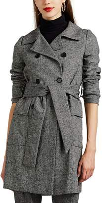 Barneys New York Women's Herringbone Trench Coat