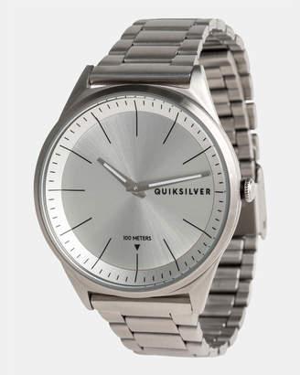 Quiksilver Mens Bienville 44mm Stainless Steel Watch