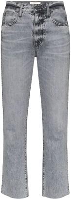 SLVRLAKE Hero High-Rise Cropped Jeans