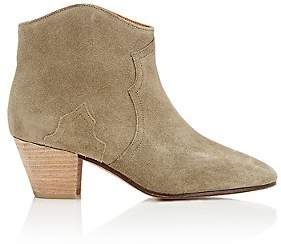 Isabel Marant Women's Dicker Ankle Boots - Olive