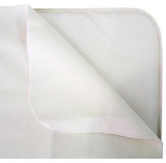 Naturepedic Organic Cotton Waterproof Flat Crib Protector Pad $59 thestylecure.com