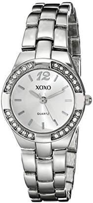 XOXO Women's XO109 Dial -Tone Bracelet Watch