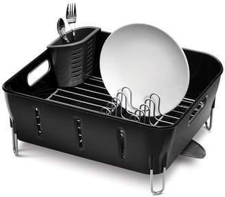 Simplehuman Black Compact Dish Rack