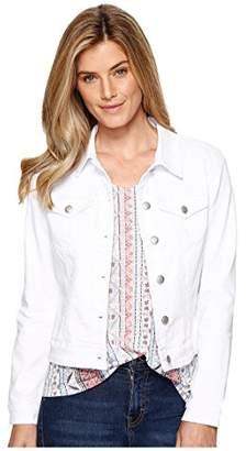 Tribal Women's Colored Basic Jean Jacket