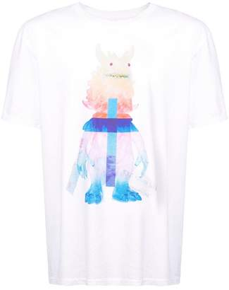 Julien David printed T-shirt