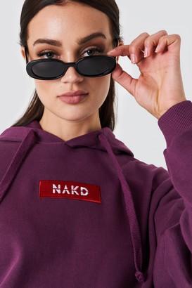 NA-KD Logo Hoodie
