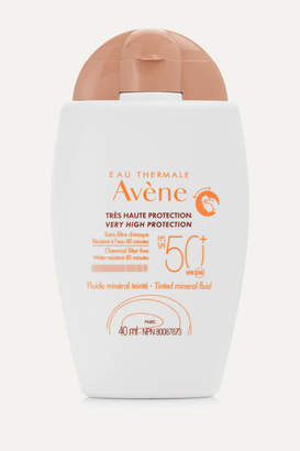 Avene Spf50 Tinted Mineral Sunscreen Fluid, 40ml - Colorless