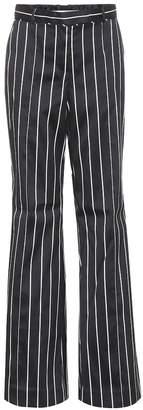 Zimmermann Striped cotton-blend trousers
