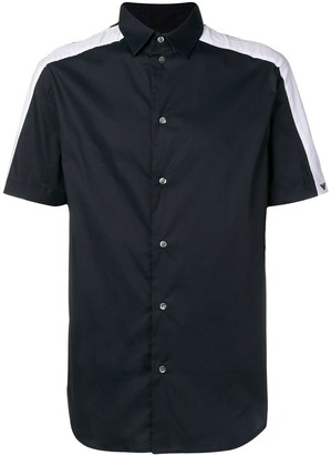 Emporio Armani contrast side panel shirt
