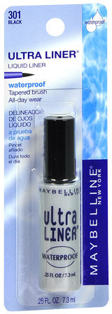 Maybelline Ultra Liner Waterproof Liquid Liner,Black