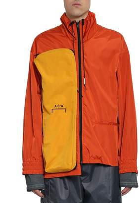 A-Cold-Wall* A Cold Wall Multi Zip Nylon Coach Jacket