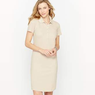 Anne Weyburn Brushed Cotton Piqué Dress